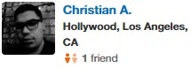 West Hollywood, CA Yelp Review