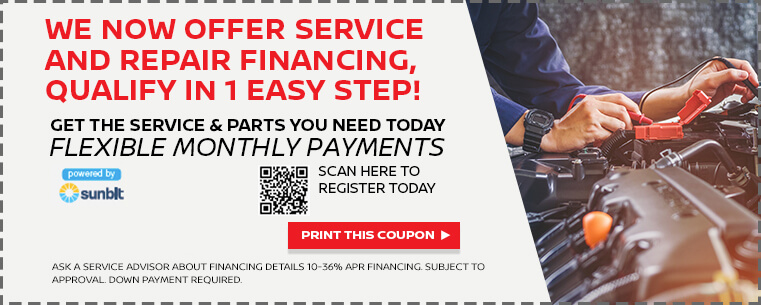 Service and Repair Financing