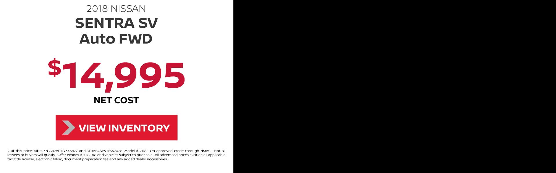 2018 Nissan Sentra Ad Video