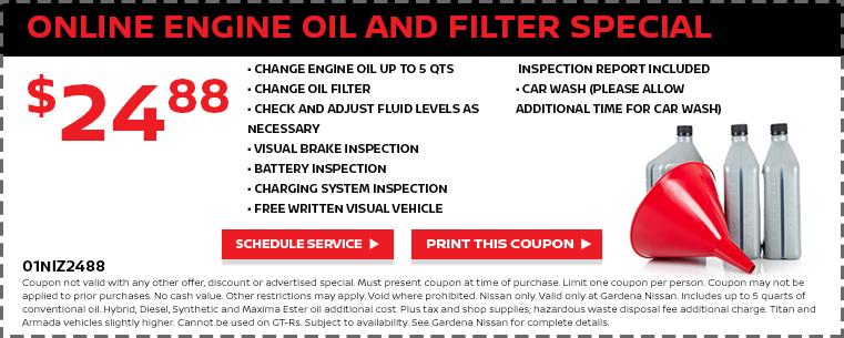 Oil & Filter Change