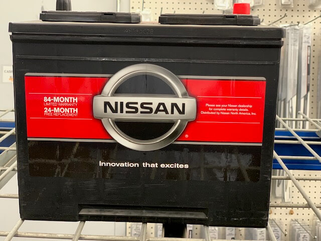 84-Month Nissan Battery Special