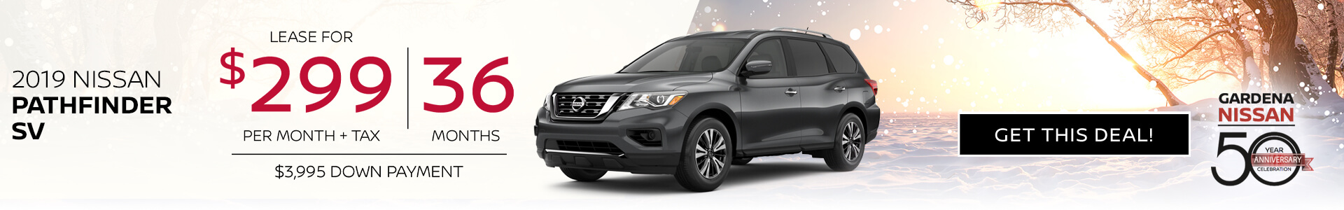 Pathfinder - $299 Lease