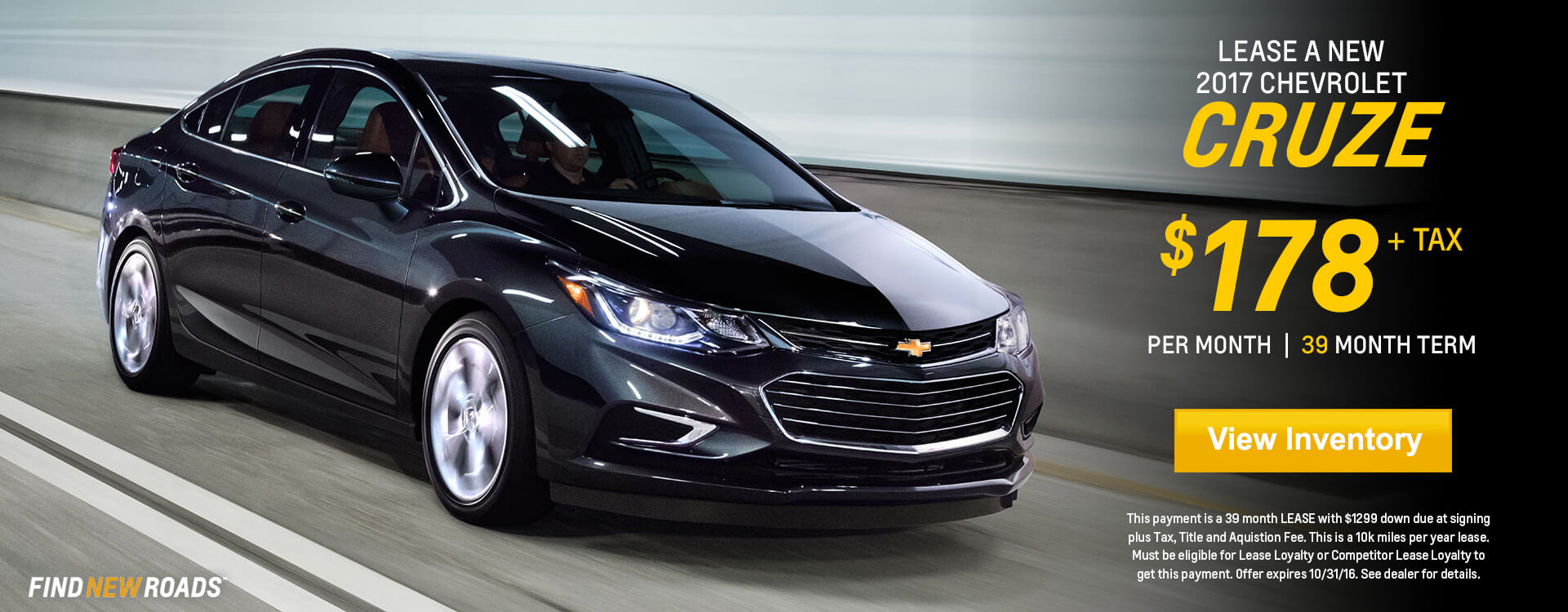 Cruze Lease Banner