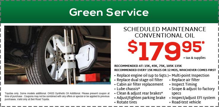 Green Service 179.95