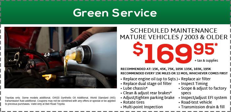 Green Service 169.95