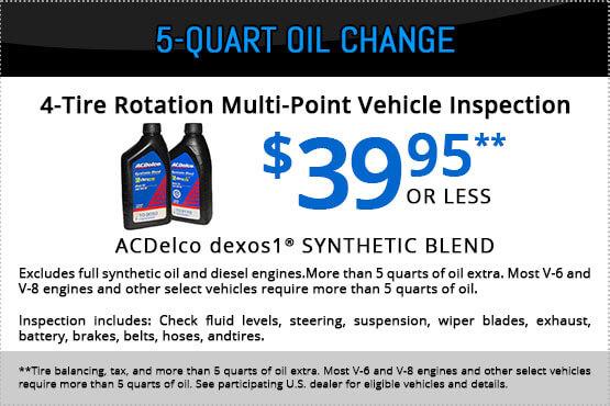 5 Quart Oil