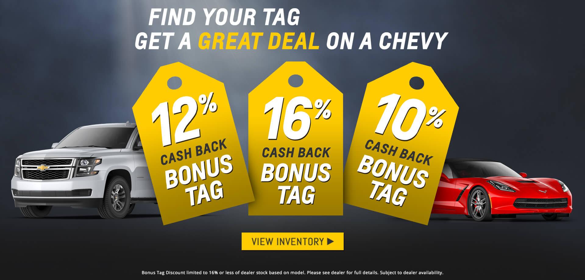 Bonus Tag Sale