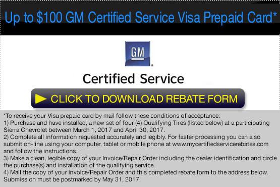 GM Card Rebate