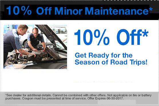 10% Off Minor Maintenance