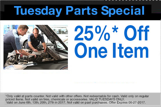 Tuesday Parts Special