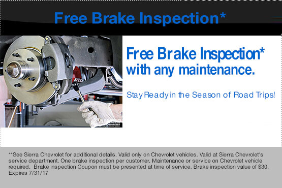 Free Brake Inspection*
