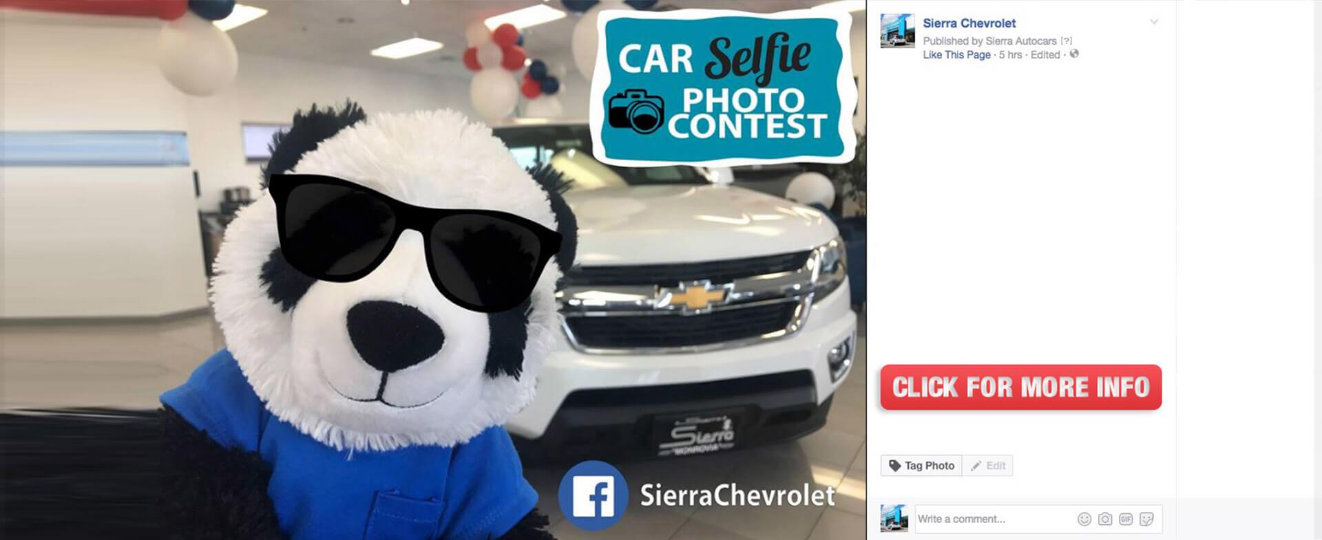 Car Selfie Photo Contest