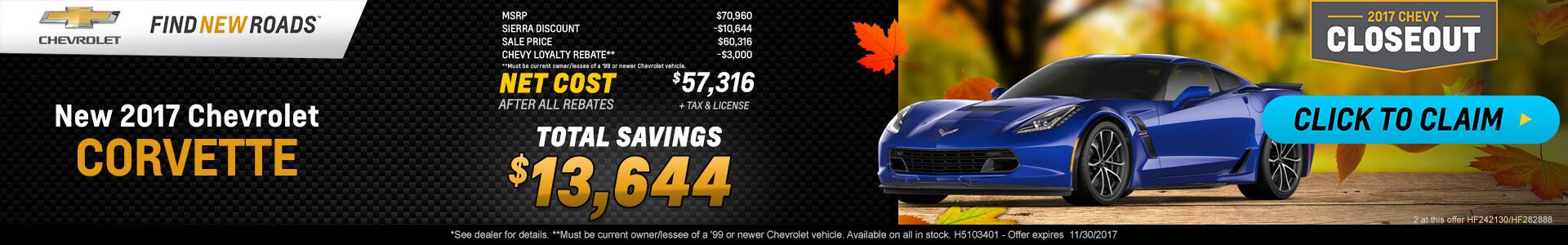 Corvette Grand Sport SRP