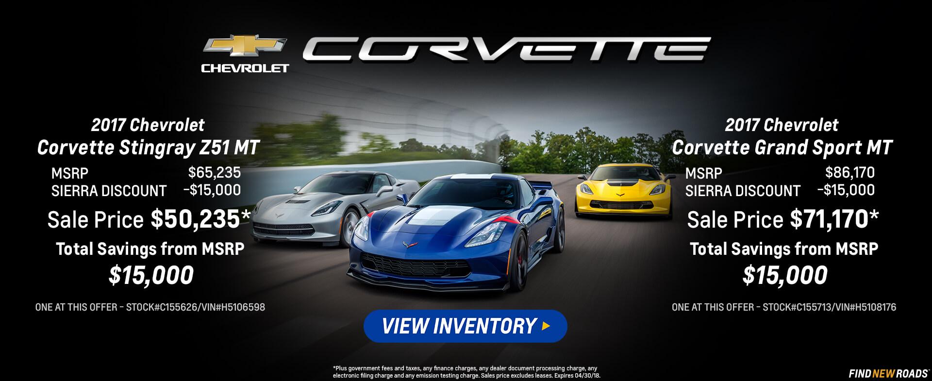 Corvette Combo HP