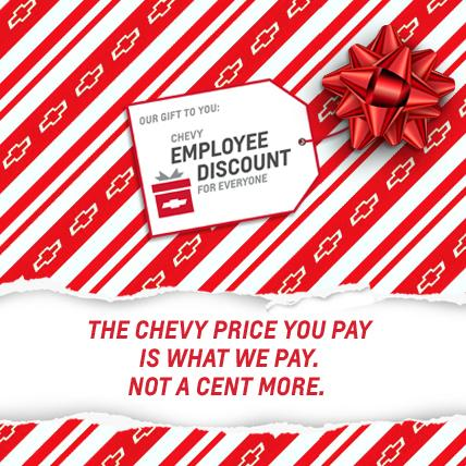 Chevrolet Employee Discount