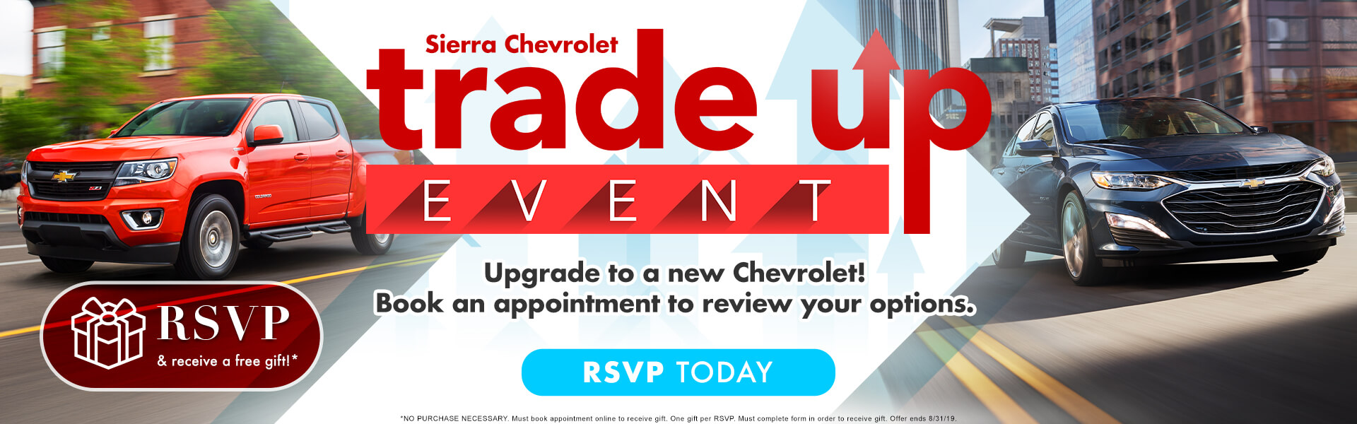 Sierra Chevrolet Trade Up Event