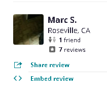 , Yelp Review Review