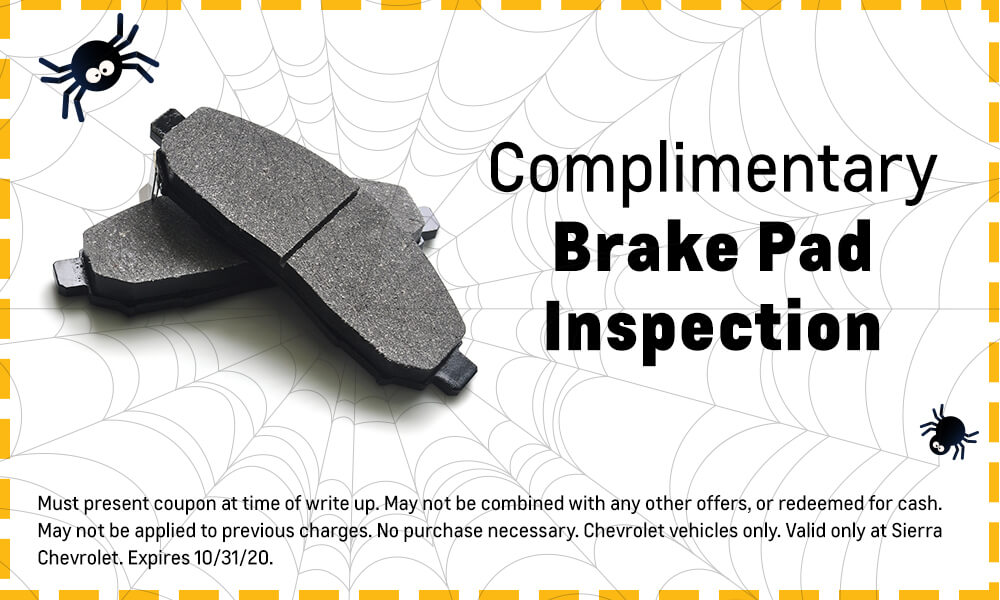 Complimentary Brake Pad Inspection