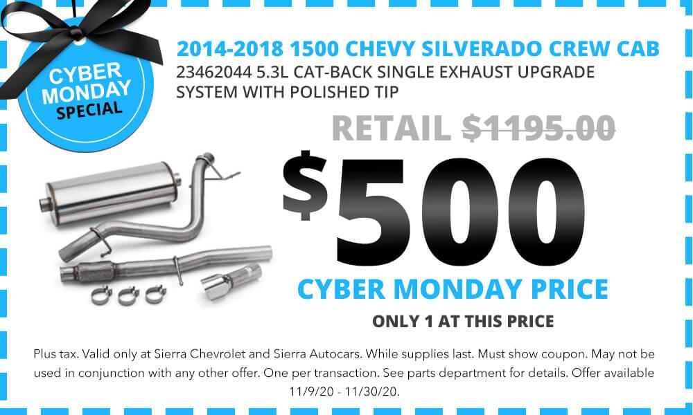 2014-2018 1500 CHEVY SILVERADO CREW CAB