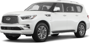 QX80 in Canyon Country