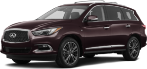 QX60 in Canyon Country