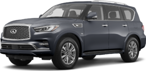 QX80 in Alpine