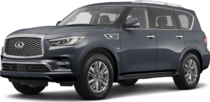 QX80 in Warner Springs