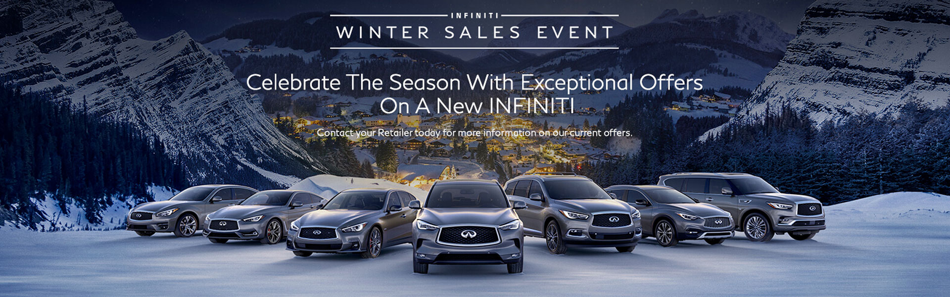 INFINITI WINTER EVENT