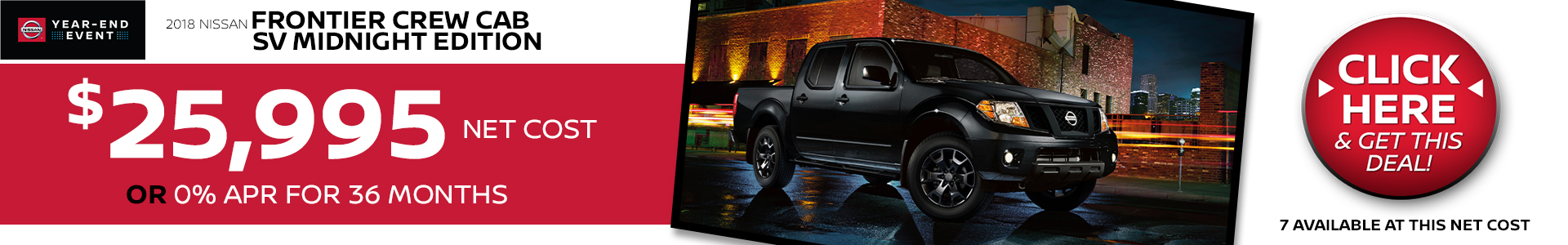 Mossy Nissan - Nissan Frontier $199 Lease