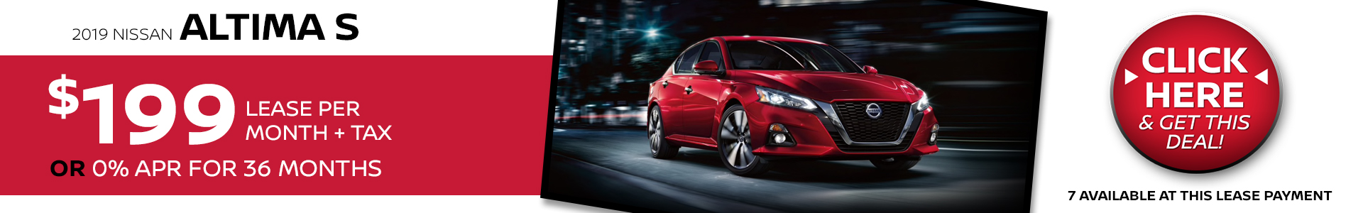 Mossy Nissan - Nissan Altima $199 Lease