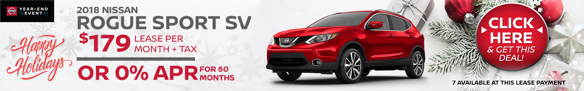 Mossy Nissan - Nissan Rogue Sport $149 Lease