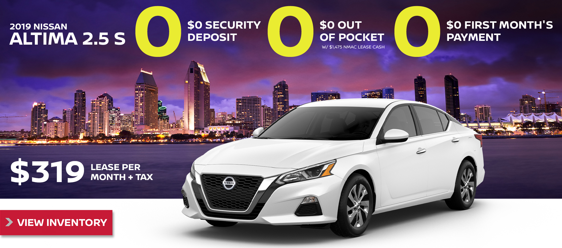 Mossy Nissan - Nissan Altima $319 Lease HP