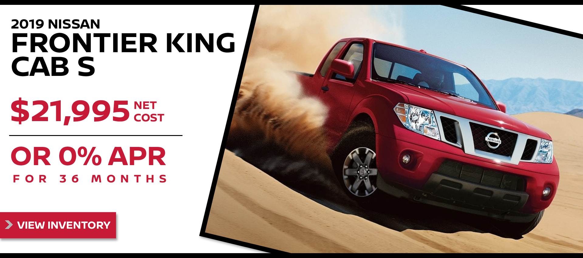 Mossy Nissan - Nissan Frontier $21,995 Purchase HP