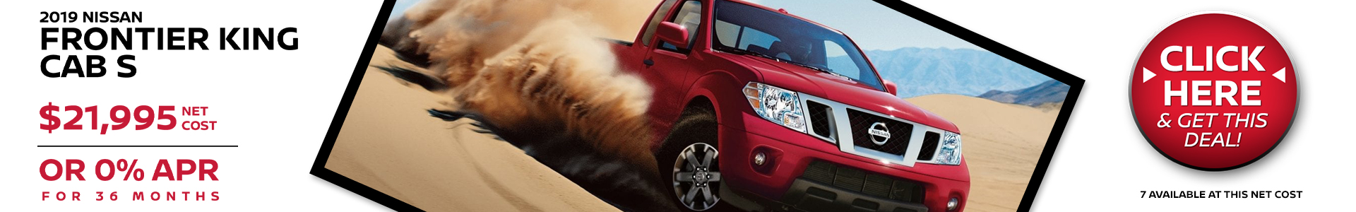 Mossy Nissan - Nissan Frontier $21,995 Purchase