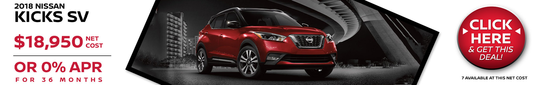 Mossy Nissan - Nissan Kicks $18,950 Purchsae