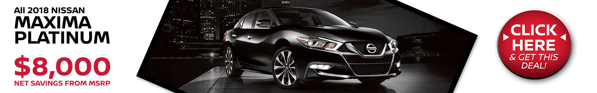 Mossy Nissan - Nissan Maxima $8,000 Off MSRP