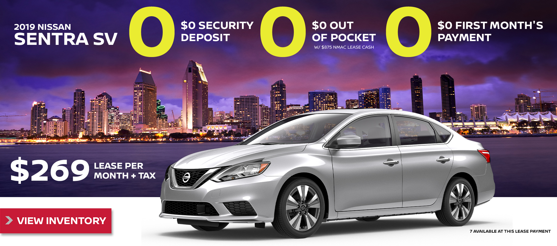 Mossy Nissan - Sentra $269 Lease HP