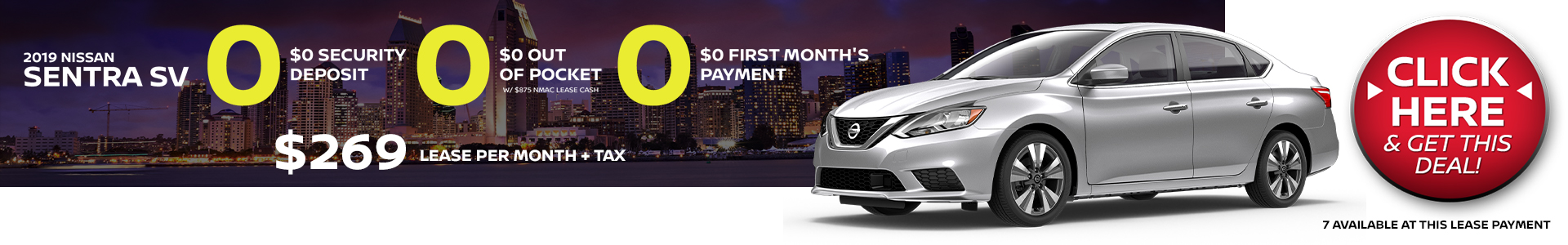 Mossy Nissan - Nissan Sentra $269 Lease