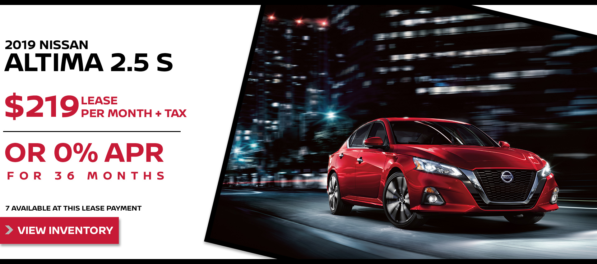 Mossy Nissan - Nissan Altima $219 Lease HP