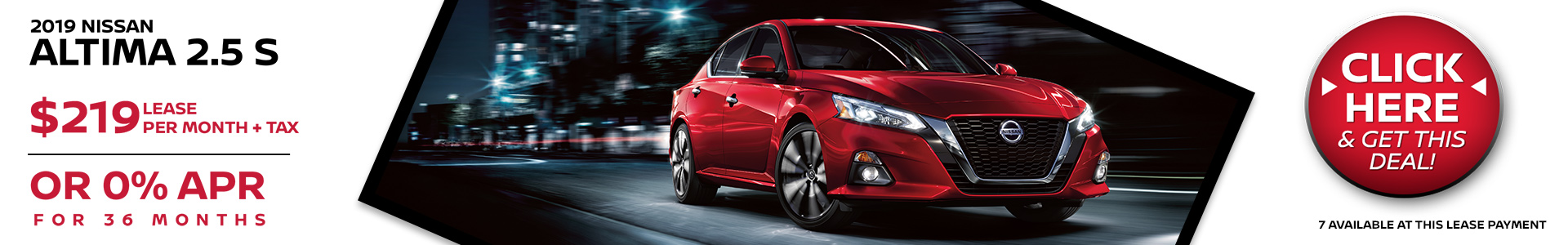 Mossy Nissan - Nissan Altima $219 Lease
