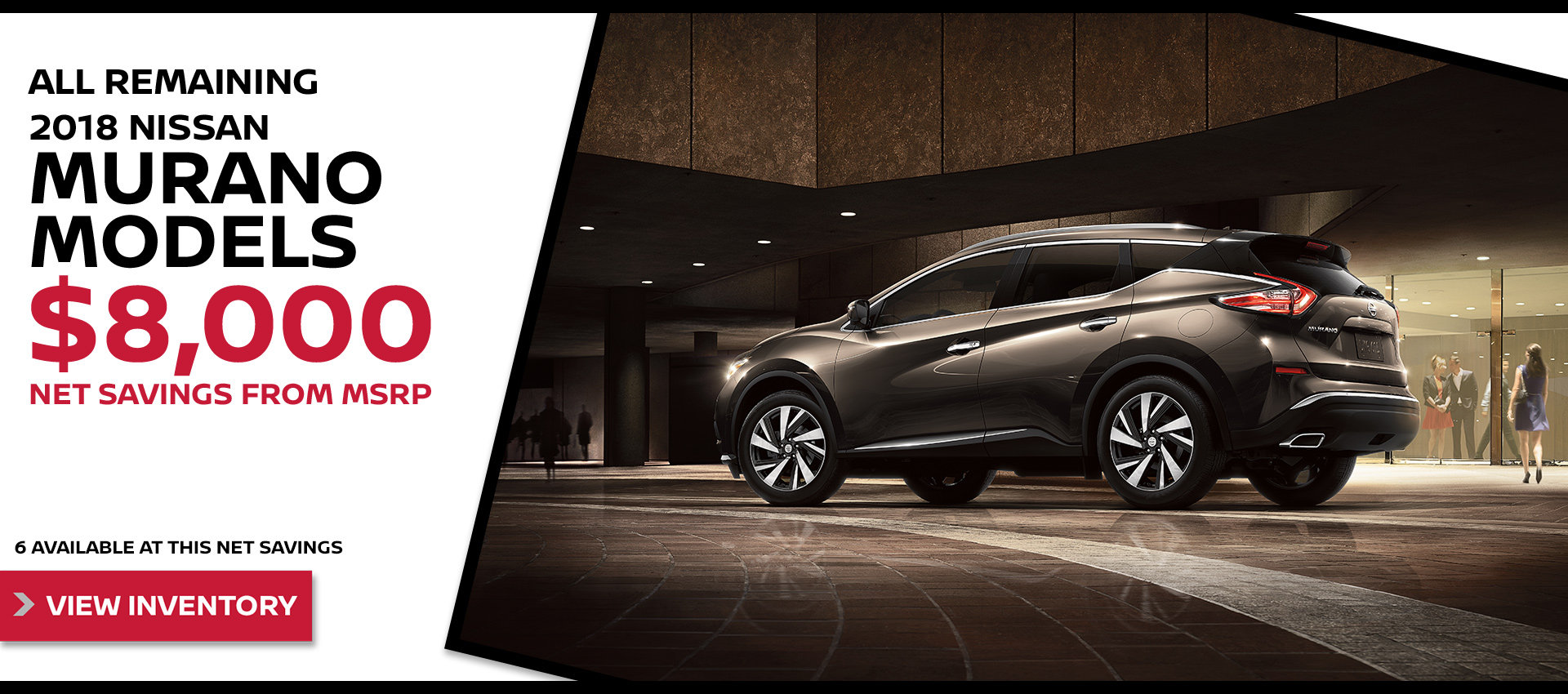Mossy Nissan - Nissan Murano $8k OFF MSRP HP