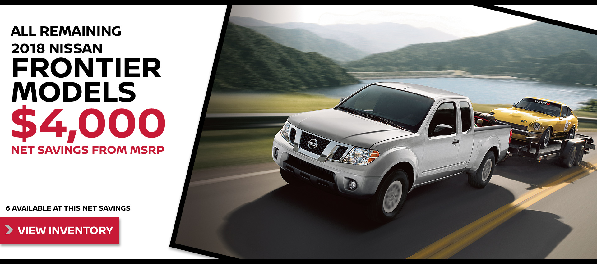 Mossy Nissan - Nissan Frontier $4k OFF MSRP HP