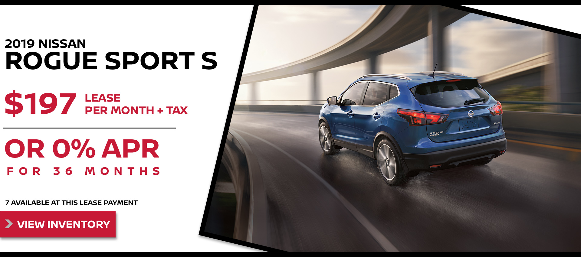 Mossy Nissan - Rogue Sport $197 Lease HP