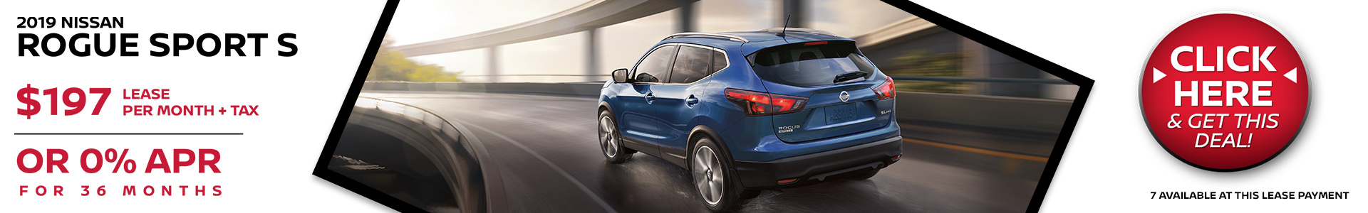 Mossy Nissan - Nissan Rogue Sport $197 Lease
