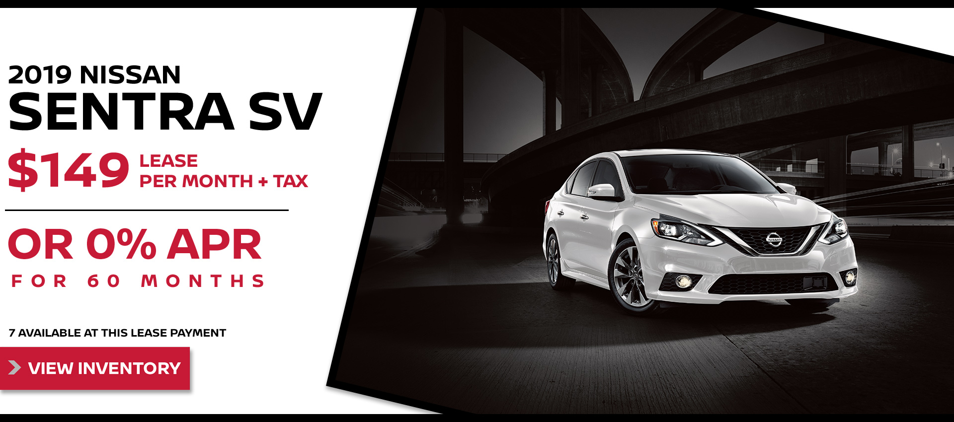 Mossy Nissan - Sentra $149 Lease HP