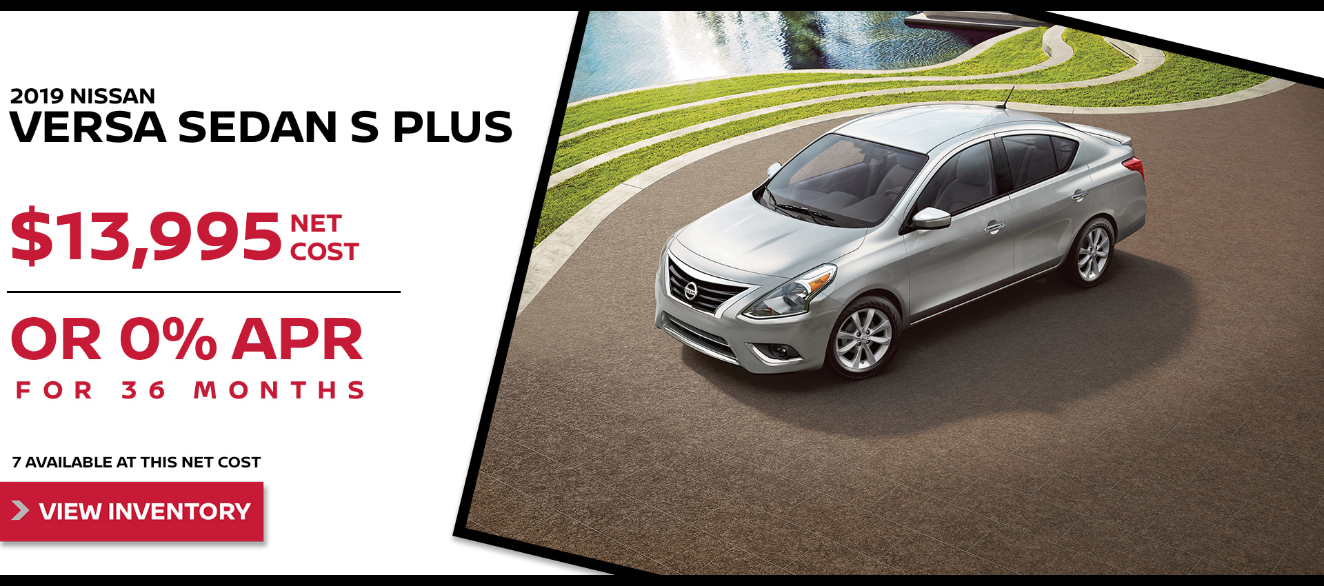 Mossy Nissan - Nissan Versa $13,995 Purchase HP