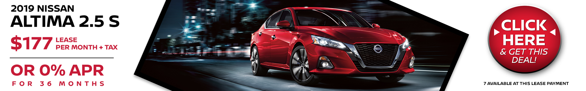 Mossy Nissan - Nissan Altima $177 Lease