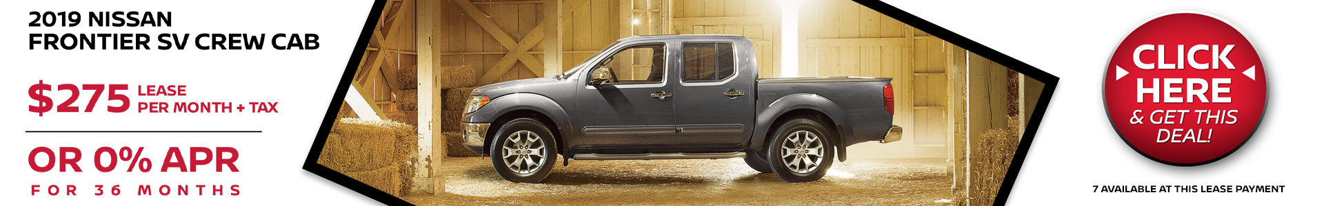 Mossy Nissan - Nissan Frontier $275 Lease