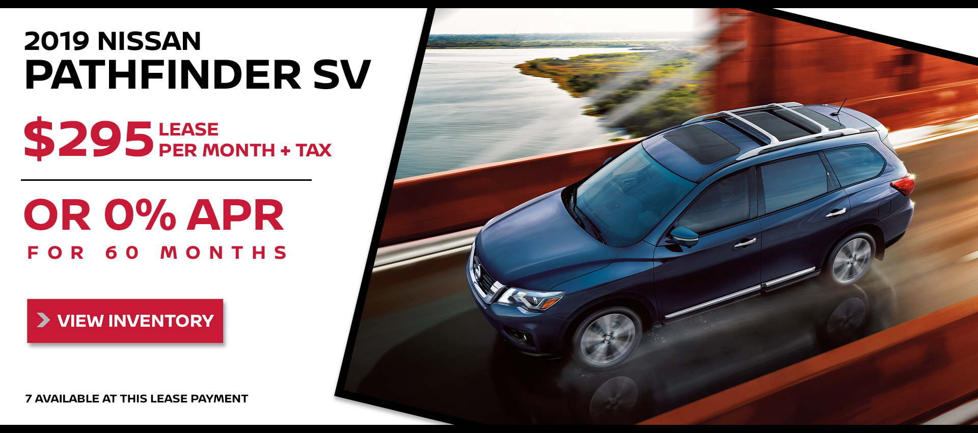 Mossy Nissan - Nissan Pathfinder $295 Lease HP