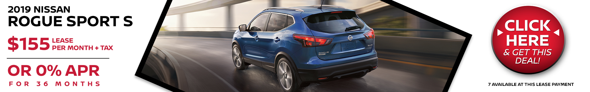 Mossy Nissan - Nissan Rogue Sport $155 Lease